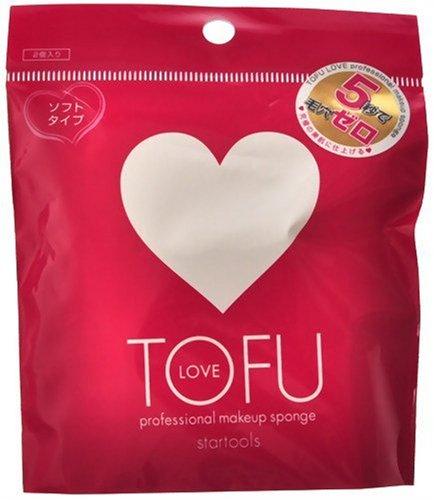 クロスマーケット TOFU LOVE プロフェッショナルメイクアップスポンジ