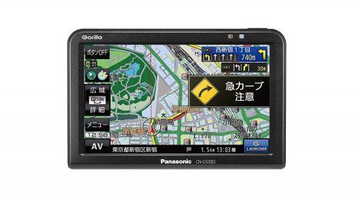 パナソニック(Panasonic) ポータブルカーナビ ゴリラ CN-G530D
