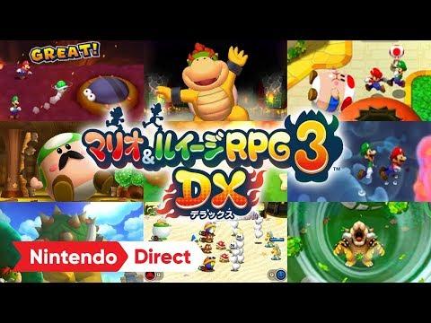 マリオ & ルイージRPG3 DX - 任天堂