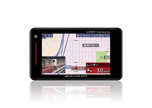 ユピテル(YUPITERU)  GPSアンテナ内蔵 レーザー&レーダー探知機 SUPER CAT GS103