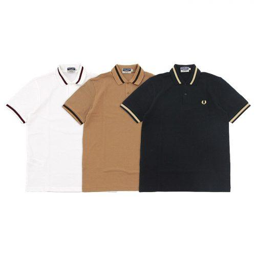 フレッドペリー(FRED PERRY) シングルティップラインポロシャツ