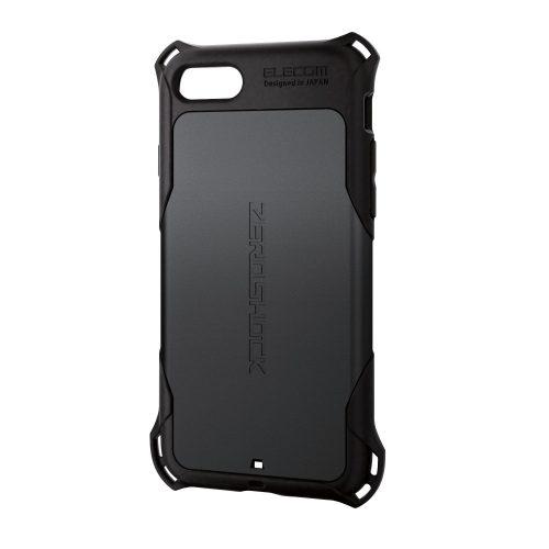 エレコム(ELECOM) iPhone 7/8用 ZEROSHOCK PM-A17MZEROBK