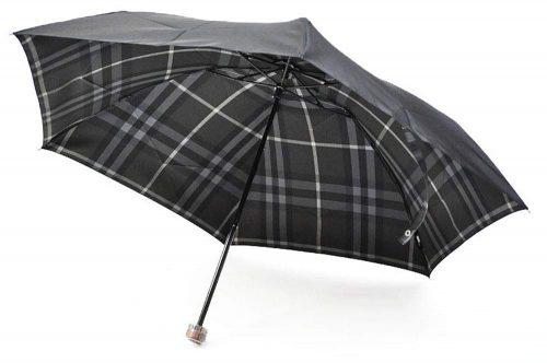 バーバリー(BURBERRY) メンズ チェック 折りたたみ傘