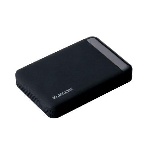 エレコム(ELECOM) ポータブルハードディスク ELP-QEN020UBK