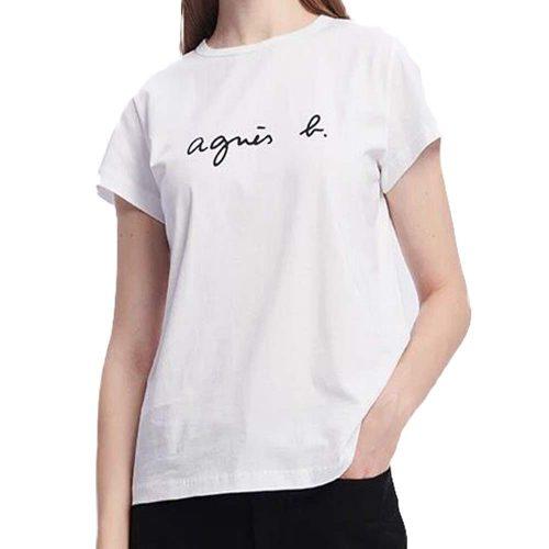 アニエスベー(agnes b) ロゴTシャツ