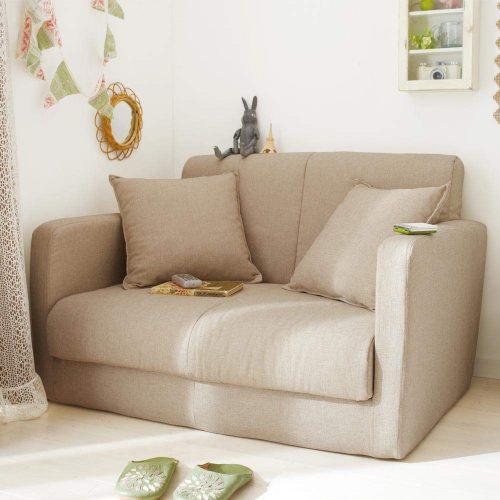 生活雑貨 脚を伸ばして寝られるソファベッド