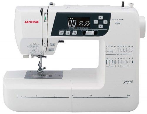 ジャノメ(JANOME) コンピューターミシン ワイドテーブル JN810