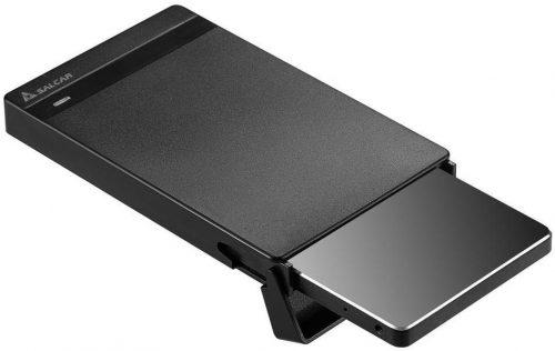 Salcar 2.5インチポータブルSATA HDD/SSDケース 603213