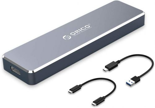 オリコ(ORICO) M.2 Nvme SSDケース ORICO PCM2-C3-NJP-GY