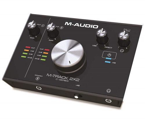 エムオーディオ(M-Audio) USBオーディオインターフェイス M-Track 2X2