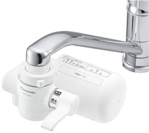 パナソニック(Panasonic) 浄水器 蛇口直結型 TK-CJ12-W