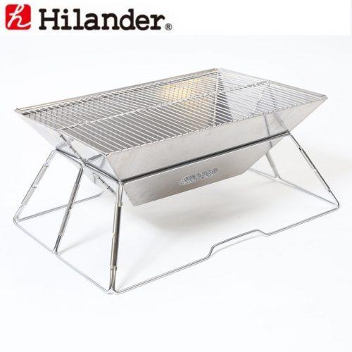 ハイランダー(Hilander) コンパクト焚火グリル