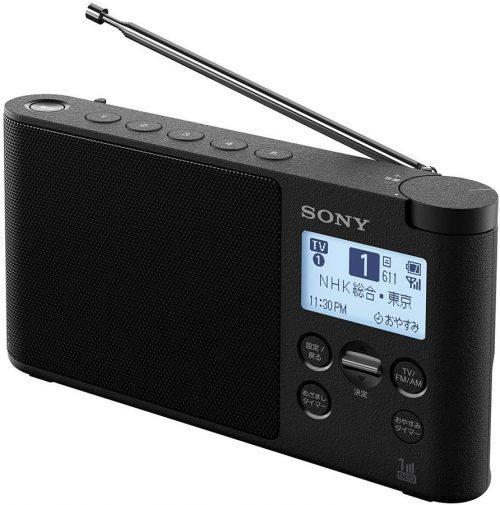 ソニー(SONY) ワンセグTV音声/FMステレオ/AMラジオ XDR-56TV