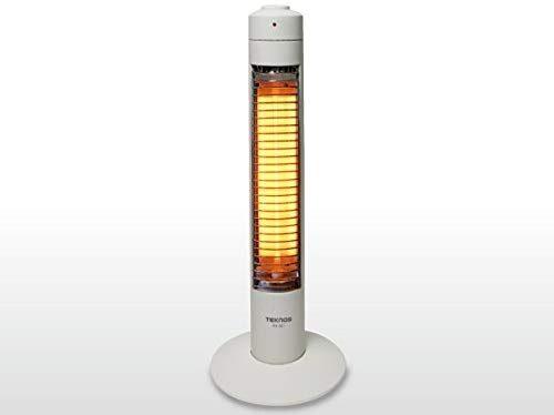 テクノス(TECHNOS) スリムハロゲンヒーター 300W1灯 PH-307