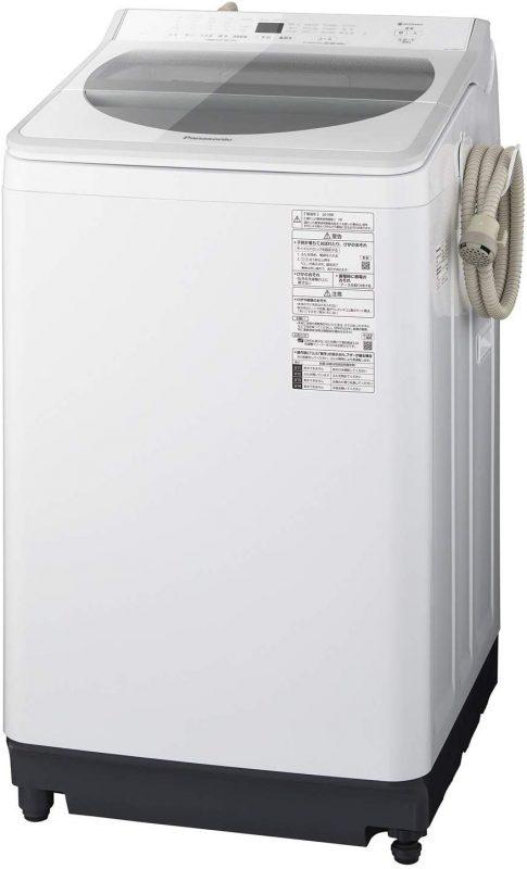 パナソニック(Panasonic) 洗濯機 NA-FA80H7 8.0kg