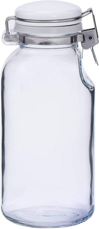 星硝(SEISHO) セラーメイト 保存びん 500ml