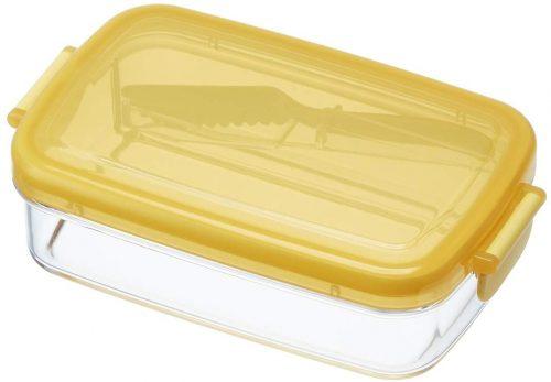 スケーター ふわふわバターナイフ付き密封バターケース PBJ1F
