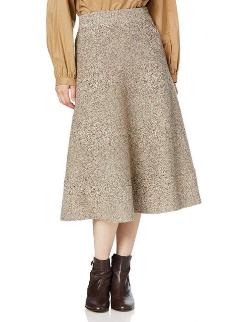 グレースコンチネンタル(GRACE CONTINENTAL) ツイーディーニットスカート