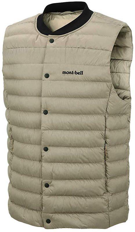 モンベル(mont-bell) Men`s EDGAR Ⅱ Down Vest Jacket