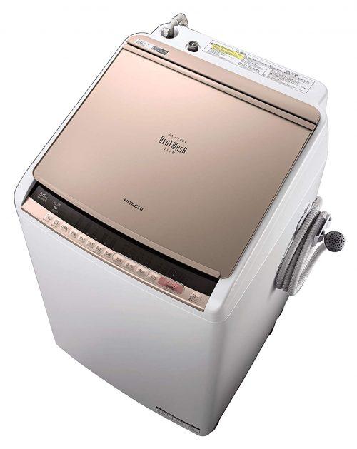 日立(HITACHI) 全自動洗濯機 ビートウォッシュ BW-DV90C-N