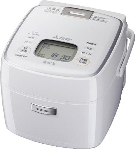 三菱電機(MITSUBISHI) IHジャー炊飯器 備長炭炭炊釜 3.5合炊き NJ-SE069