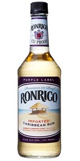 ロンリコ(Ronrico) 151プルーフ