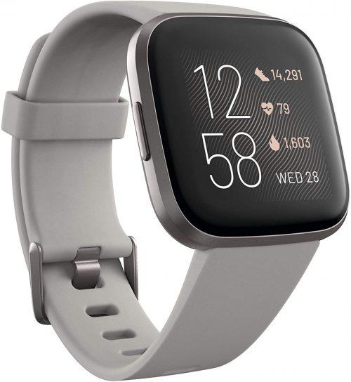 フィットビット (Fitbit) Versa 2 FB507GYSR-FRCJK