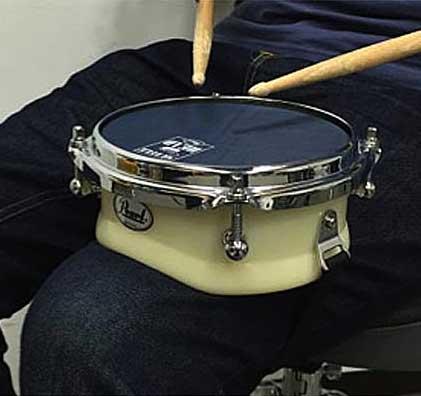 パール(Pearl) ドラム練習パッド 膝当てタイプ TPX-6N