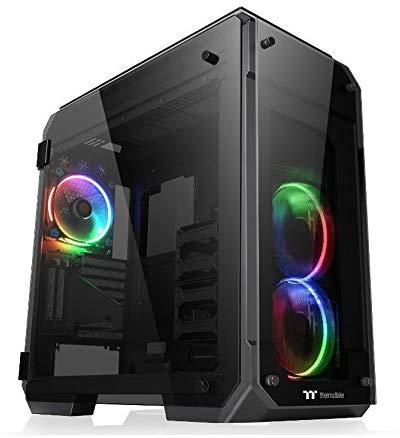 サーマルテイク(Thermaltake) View 71 Tempered Glass RGB Edition CA-1I7-00F1WN-01