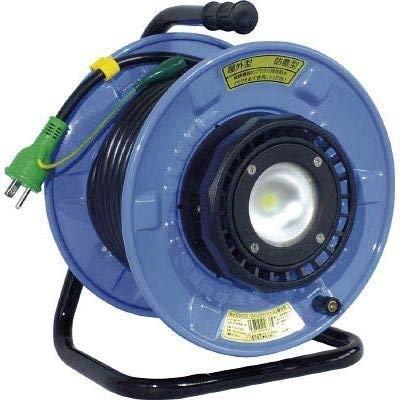 日動工業 防雨・防塵型LEDライトリール 20m SDW-EK22-10W
