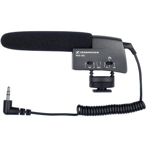 ゼンハイザー(SENNHEISER) ミニショットガンマイクロフォン MKE400