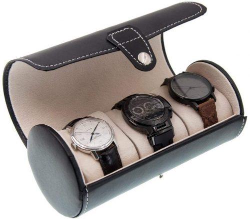 OURJOY 円筒形腕時計ケース