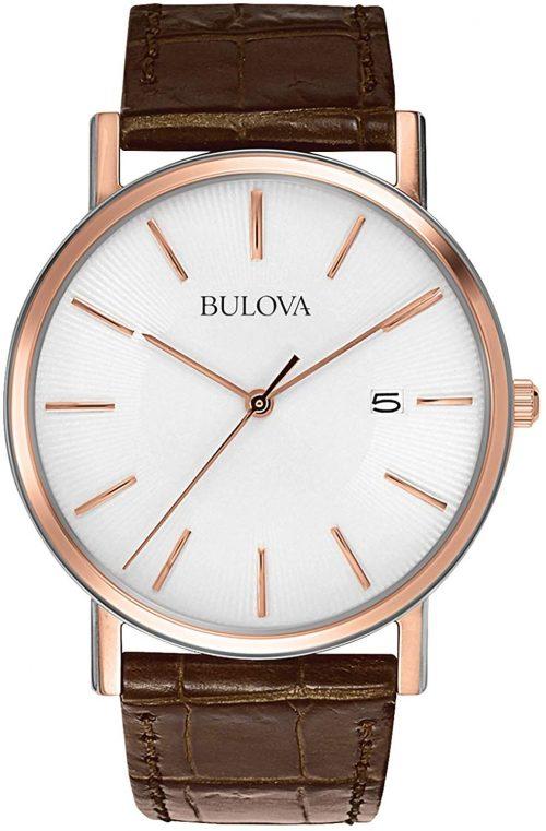 ブローバ(BULOVA) クオーツ アナログ腕時計 98H51