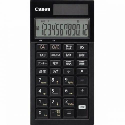 キヤノン(CANON) テンキー電卓 LS-12TK IV-BK 4083B001