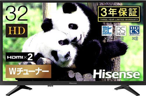 ハイセンス(Hisense) ハイビジョン LED液晶テレビ 32型 32K30