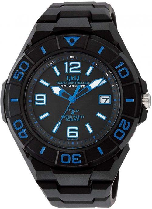 シチズン(CITIZEN) 電波ソーラー腕時計 Q&Q HG14-345