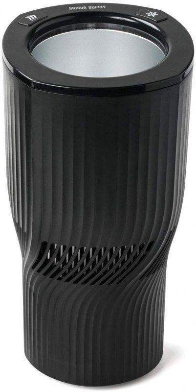 サンワサプライ(SANWA SUPPLY) 保温保冷車載ドリンクホルダー 200-CAR057BKN