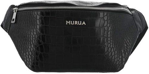 MURUA(ムルーア) ウエストポーチ クロコ