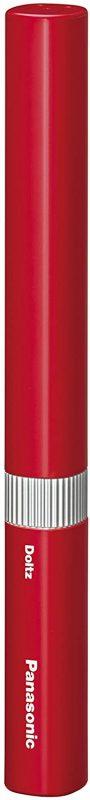 パナソニック 電動歯ブラシ ポケットドルツ 赤 EW-DS1B