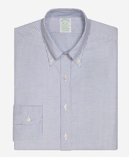 ブルックスブラザーズ(Brooks Brothers) スーピマコットン ポロボタンダウンドレスシャツ