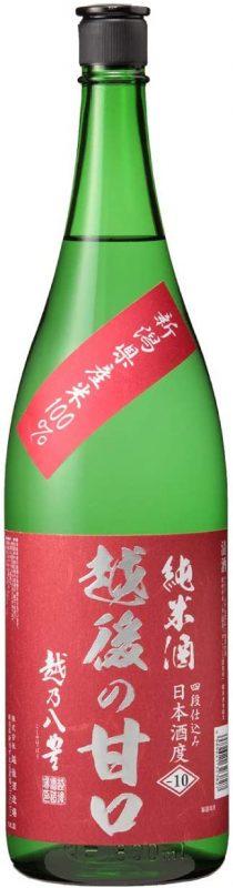 越後酒造場 越乃八豊 越後の甘口 純米酒