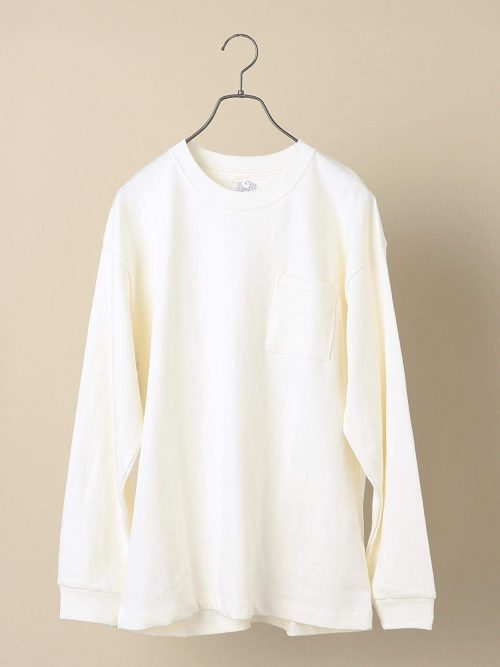 シップス(SHIPS) FRUIT OF THE LOOM×SHIPS ロングスリーブTシャツ