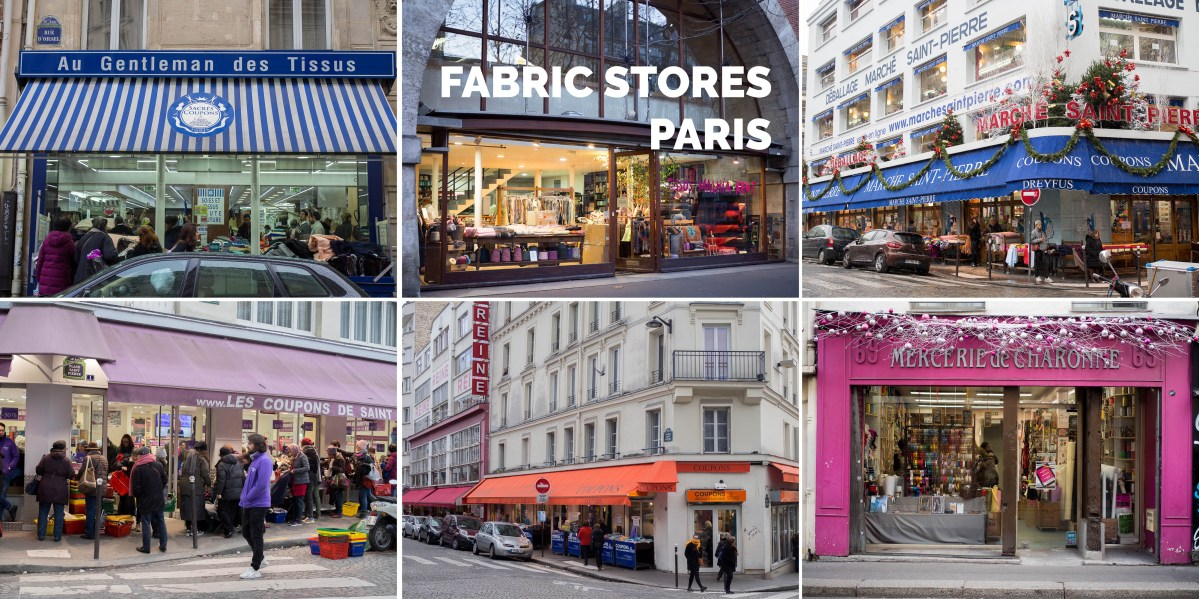 Fabric Stores Paris