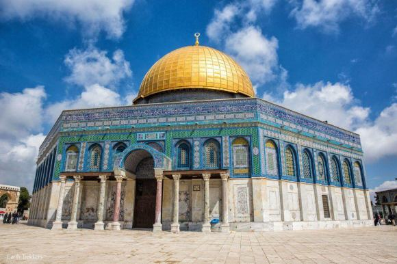 Dome of the rock by Caliph Abdul Malik Ibn Marwan