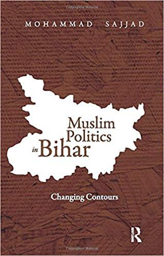 মুসলিম পলিটিক্স ইন বিহার : চ্যাঞ্জিং কন্টুরস