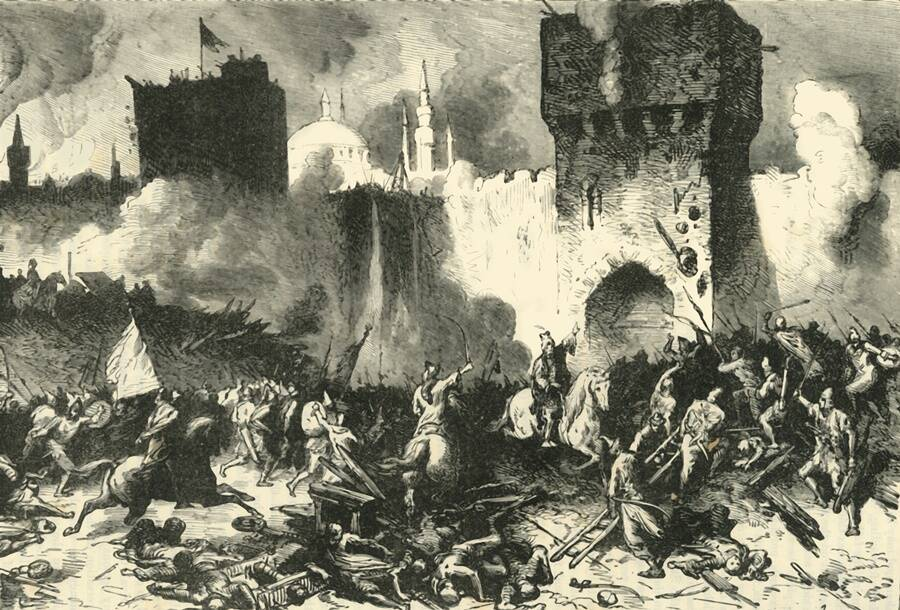 Consequences of the Janissary force