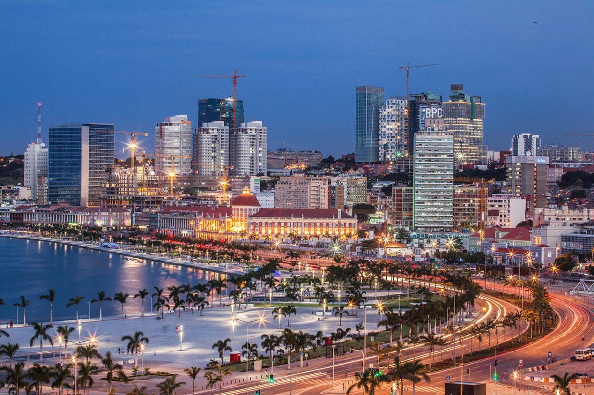 Modern town in Angola- angola capital