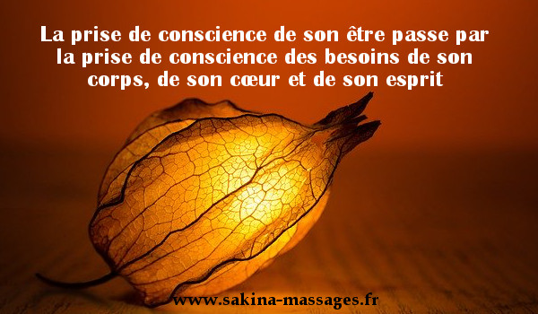 conscience du corps