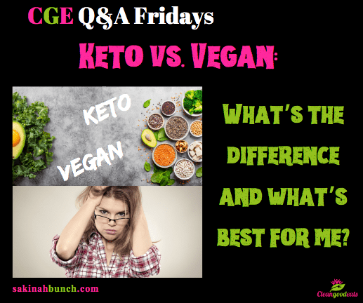 Keto vs. Vegan: What's the difference and what's best for me?