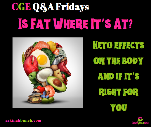 Is Fat Where It's At? Keto effects on the body and if it's right for you